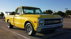 For Sale: Very clean 1969 Chevrolet C10 SWB Fleetside Pickup. Fully restored, this truck is straight as an arrow and as clean as they come; absolutely no rust at all with beautiful, thick paint. Very