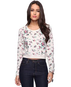 Floral Bouquet Pull Over   FOREVER21 - 2011409932