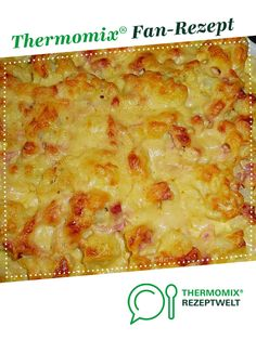 Blumenkohlauflauf Cauliflower casserole from Sylvia Rist. A Thermomix ® recipe from the main course with vegetables category www.de, the Thermomix ® community. Baby Food Recipes, Meat Recipes, Food Processor Recipes, Easy Cooking, Healthy Cooking, Baked Cauliflower Casserole, Benefits Of Potatoes, A Food, Food And Drink