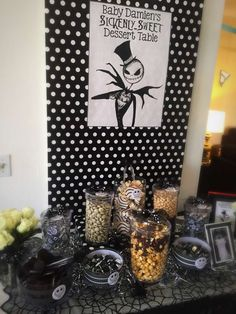 Nightmare Before Christmas, Jack Skellington Baby Shower Party Ideas