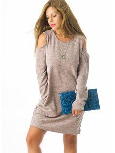 Jersey Vestido de Punto MS1687