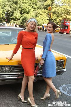 Serena and Blair, Gossip Girl #tv #tvshow