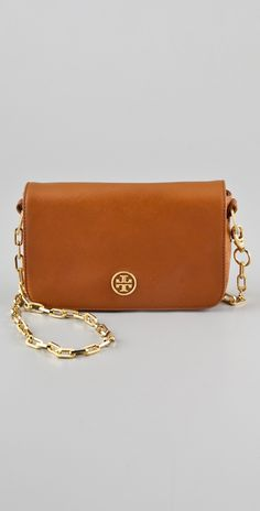 Tory Burch Saffiano Robinson Chain Bag | SHOPBOP