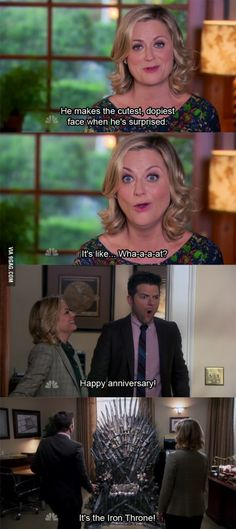 Leslie Knope's gift to Ben.