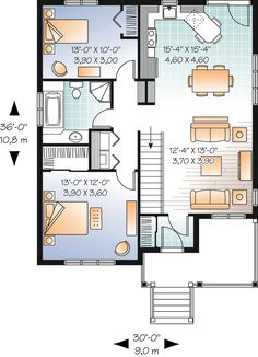 1000 images about shop w living quarters on pinterest for 30x36 garage plans
