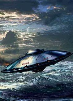 everything about aliens — flying objects that cannot be identified by any. Aliens And Ufos, Ancient Aliens, Sf Wallpaper, Arte Sci Fi, 70s Sci Fi Art, Alien Worlds, Alien Art, Futuristic Art, Flying Saucer