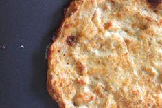 Super easy Cauliflower Crust! AMAZING healthy alternative to pizza dough!!