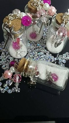 Check out this item in my Etsy shop https://www.etsy.com/uk/listing/499650111/fairy-dust-wedding-favours-in-pink-ivory