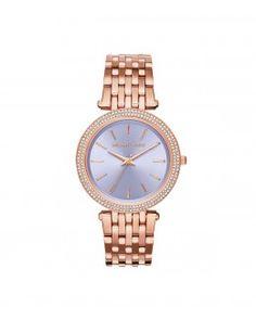 Relógio Darci com pavê em rose