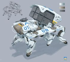 Awesome Robo!: The Mechs Of Stewpan