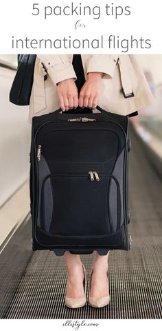 Great tips for packing carry-on only on international flights! I am totally going top try tip #2!