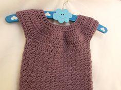 VERY EASY crochet baby / girl's bobble dress tutorial - part 2