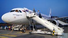 SAS Airbus A319-100 - MSN 2850 - OY-KBO beim Boarding am Flughafen Berlin-Tegel - Check more at http://www.miles-around.de/trip-reports/economy-class/sas-airbus-a319-100-economy-class-berlin-nach-kopenhagen/,  #A319-100 #Airbus #Airport #avgeek #Aviation #CPH #EconomyClass #Flughafen #Lounge #LufthansaSenatorLounge #Reisebericht #SAS #Trip-Report #TXL