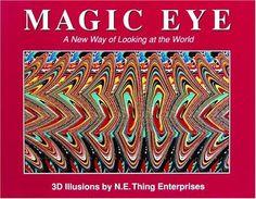 Magic Eye 3d Illusion book