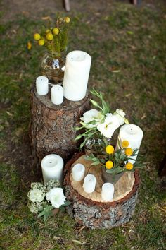 Outside candle idead :)