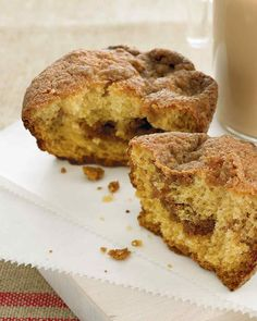 These moist and flavorful coffee cake muffins can be enjoyed any day of the week.
