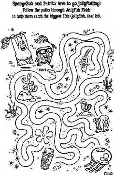 Free Printable Mazes for Kids at AllKidsNetwork.com