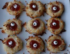 Eye Ball Cookies for Halloween