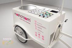 _PERCHE' 2° indizio: la campagna di #crowdfunding su WOOP food lancerà sul mercato il primo chiosco itinerante #Mashcream. Siete pronti a saltare in sella alla nostra bike??  #gelato #italia #startup #comingsoon