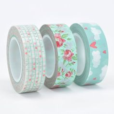 WASH TAPE TRIO - MINT - Simply Sweet Soirees