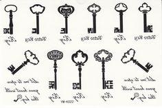 Black Keys Tattoo Designs