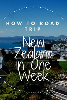 Click through to learn how to road trip New Zealand in just ONE week on a relatively low budget.
