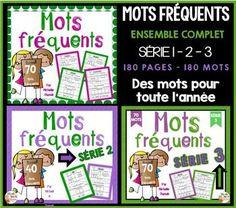Les mots fréquents représentent environ 50% des mots présents dans un texte. Quand les élèves connaissent les mots fréquents, leur lecture devient plus facile.