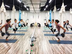Kurs instruktorski Aerial® jogi. Prowadzi Monika Łazuk OMG yoga