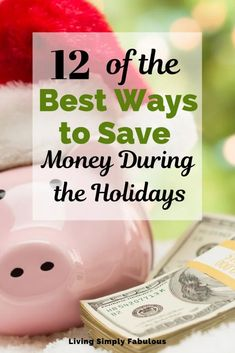 No need to go broke this Christmas. If you're looking for a way to get a hold of your finances this year, without going over budget check out this post on 12 ways to save money during the holidays.