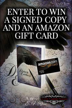 Giveaway - October 23, 2015 thru November 22, 2015 http://www.ilovevampirenovels.com/giveaways/win-75-amazon-gift-card-emily-rose/