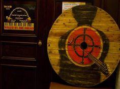 """Guitar""  Artists: Andrei Cornea & Daniel Loagăr Guitar, Collage, Artists, Wood, Collages, Woodwind Instrument, Timber Wood, Collage Art, Trees"
