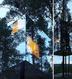 El hotel invisible (desaparece en un bosque sueco) :o