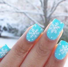 These winter nail polish colours are perfect for the upcoming holiday season! Your nails are going to look perfect at your next winter party! Snow Nails, Xmas Nails, Holiday Nails, Winter Nails, Valentine Nails, Halloween Nails, Spring Nails, Summer Nails, Winter Nail Designs