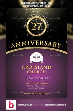 Invitation for church anniversary sample google search church anniversary flyer stopboris Choice Image
