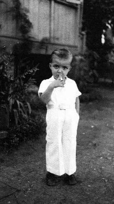 I want this to be a picture of Desi Arnaz as a kid.