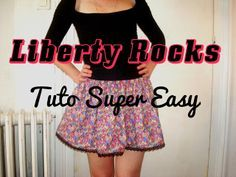 Crafty Bitches - Blog DIY, Couture, Déco, Vintage: Liberty Rocks : Le tuto ultra facile