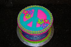 Peace Sign Birthday Cakes At Walmart