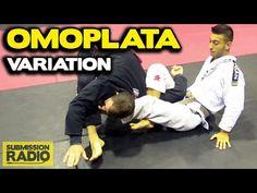 How to do a Omoplata shoulder lock VARIATION (David Younan)   GI BJJ SAMBO - YouTube