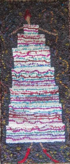 or dress? Laura Kenny, Penny Rugs, Traditional Rugs, Wool Applique, Punch Needle, Rug Hooking, Wool Rug, Knit Crochet, Canvas Art