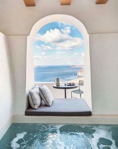 Greece Hotel Hotels And Resorts, Best Hotels, Beautiful Hotels, Beautiful Places, Beautiful Scenery, Places To Travel, Places To Go, Travel Destinations, Location Airbnb