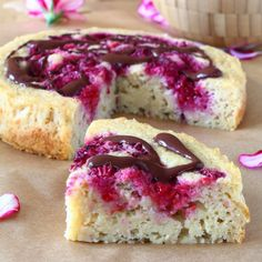 Are you tired of eating the same breakfast every day? Here is a good alternative with this healthy cake that you can for example… Breakfast Buffet, Breakfast Cake, Vegan Breakfast Recipes, Dessert Recipes, Strawberry Torte Recipe, Brownies, Healthy Cooking, Cooking Recipes, Gateaux Vegan