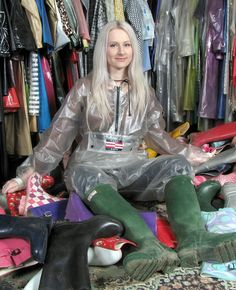 Femmes In Rubber Boots Photo Paradise In 2018