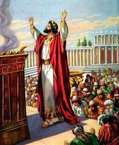 Solomon Builds the Temple (Bible Primer, 1919)