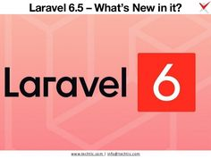 Techtic Solutions prepared PPT of laravel 6.5's new features. Here, We describe Laravel 6.5's features like LazyCollection::remember() method, two new string methods, new query builder methods, and custom unless blade conditions. Meanwhile, if you want to hire certified Laravel developer for developing a secure, high performance and faster web applications then Techtic is one of the most trusted Laravel development company with 10+ years of web development experience. For more info. Web Application, Whats New, Web Development, 10 Years, Blade, News