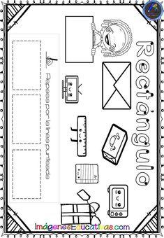 Shapes Worksheet Kindergarten, Shapes Worksheets, Math Anchor Charts, Math 2, English Class, Holidays And Events, Preschool, Diagram, Bullet Journal
