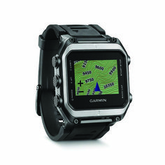 Find Yourself // Garmin's high-res, color, touch-screen Epix mapping watch accesses both GPS and GLONASS satellites to quickly pinpoint your location. There's also an auto-calibrating altimeter, barometer and compass tucked inside its sleek frame.