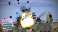 Worms W.M.D All Stars PS4 & Xbox One screen shot. The worms are back in their most destructive game yet. With a gorgeous, hand-drawn 2D look, brand new weapons, the introduction of crafting, vehicles and buildings plus the return of some much-loved classic weapons and gameplay, Worms W.M.D is the best worms experience ever.