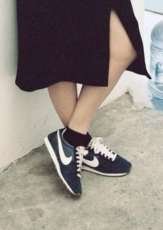 #sneakers #shoes #fashion #style #shoesforlife #nike #splitskirt