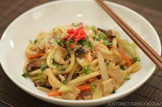 Yaki Udon 焼きうどん | Easy Japanese Recipes at JustOneCookbook.com