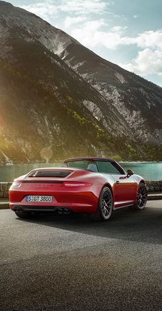GTS. Three letters that combine the high performance of the racetrack with everyday sportiness. With more power, solid roadholding and a sharpened design. #Porsche #911 #Carrera #GTS. Learn more: http://porsche.com/all/countryselector/default.aspx?type=911-carrera-gts    Combined fuel consumption in accordance with EU5: 12.4-8.2 l/100 km; CO2 emissions in g/km 289-191.